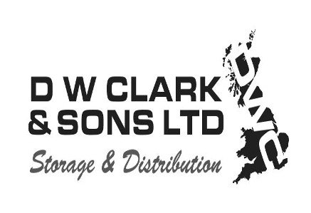 The logo of DW Clarke & Sons who offer storage and distribution services from their base in Maldon, Essex
