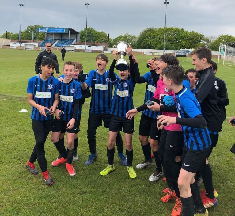 Under 13 Blues Open Cup Winners